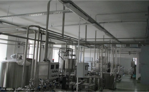 Stabilimento per la lavorazione del latte in vendita nella regione di Kaluga