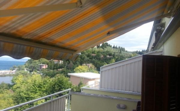 Bilocale con terrazza vista mare a pochi minuti dalla spiaggia di Pirano