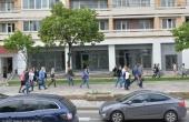 Locali fronte strada in posizione di fortissimo passaggio a pochi metri da Belorusskaya