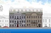 Progetto alberghiero in vendita a San Pietroburgo nel quartiere Admiralteysky