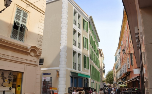 Appartamenti ristrutturati nel centro storico di Mentone