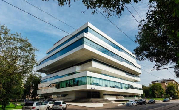 Office premises for rent in premium building close to metro Dubrovka
