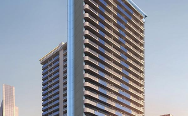 Апартаменты с гарантированной доходностью в новом проекте в Merano Tower в Бизнес Бей