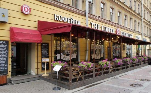 Street retail premises for rent in Malaya Sadovaya for café/restaurant