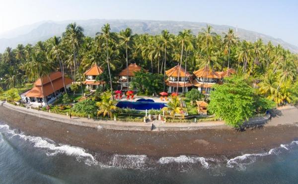 Отель на 1-й линии моря на продажу на Бали