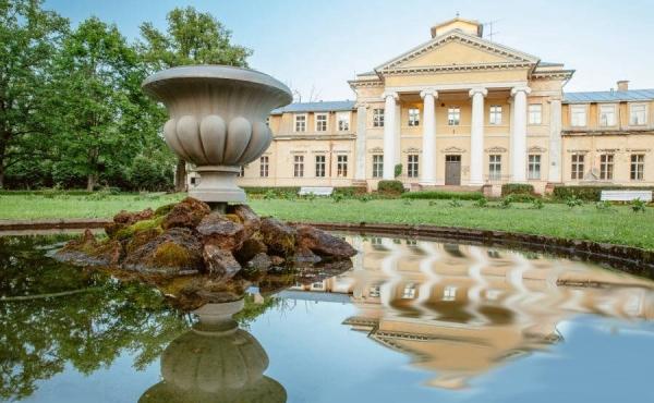 Tenuta in stile neoclassico a 50 km da Riga