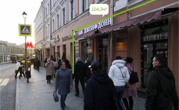 Spazio per ristorazione in affitto su Maroseyka