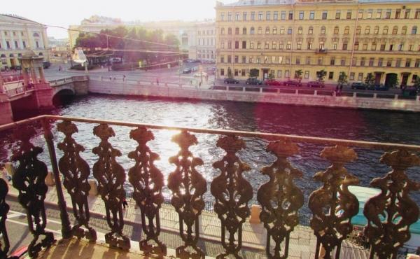 Appartamento vista fiume sulla Fontanka