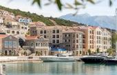 Резиденции класса люкс в новом курорте на побережье Черногории