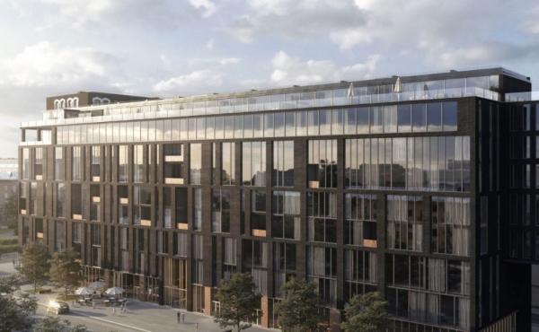 Loft di 99 m2 in vendita in nuovo complesso zona Baumanskaya