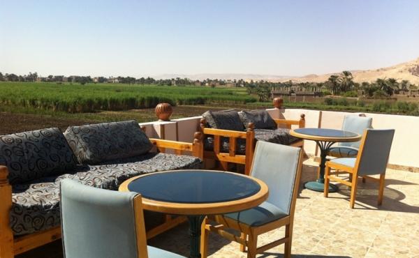 Hotel for sale close to the Colossi of Memnon statues in Luxor