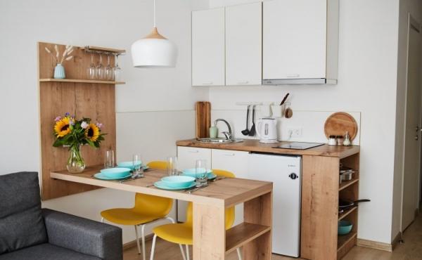 Appartamenti pronti per l'uso in affitto in zona Baumanskaya